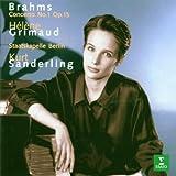 Brahms : Piano concerto no 1 in D minor Op 15 by Helene Grimaud (1998-03-09)