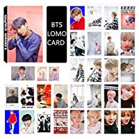 Saitrewed-BTS 防弾少年団 MAP OF THE SOUL PERSONA LOMOカード 30枚 BTS 写真 ニューアルバム BOY WITH LUV 応援グッズ はがき フォトカードセット 人気 ギフト for a.r.m.y(闵玧其)