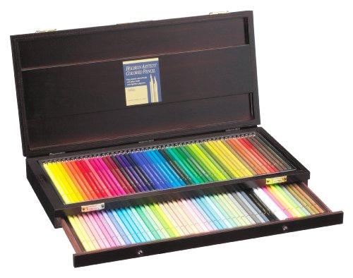 ホルベイン アーチスト色鉛筆100色セット 木箱入