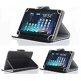 10インチ タブレットケースIVSO® 10インチ タブレットタブレットPC通用  カバー 超薄型 最軽量 スタンド機能付きソニー Xperia Tablet, ASUS ME301,NEC LaVieTab E10inch, ASUS T100TA,ソニー Xperia Z2 Tablet, ソニー Xperia Tablet Z, Acer Aspire Switch 10, 富士通STYLISTIC M532/EA4 ANDOROID4.0, Dual-Core10.1インチ, Skyview T103, ASUS ノートブック T100TAM, Dell Venue 10 Pro, MSI S100など用 (ブラック)