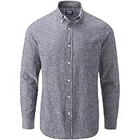 Charles Wilson Men's Long Sleeve Linen Shirt