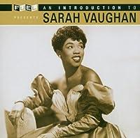 Introduction to Sarah Vaughan