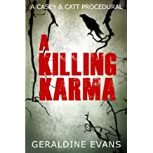 A Killing Karma (Casey & Catt British Mystery Series Book 2)