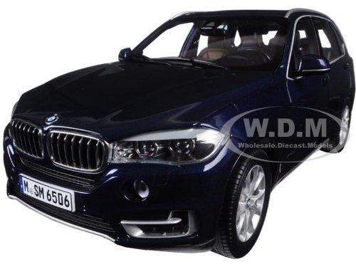 BMW X5 5.0i xDrive (F15) Imperial Blue 1/18 Diecast Model Car by Paragon サイズ : 1/18 [並行輸入品]