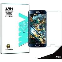 【A9H】Samsung Galaxy S6 Edge ガラスフィルム 保護フィルム 強化ガラスフィルム 高透明度 自動吸着 気泡ゼロ 飛散防止 指紋?汚れ防止