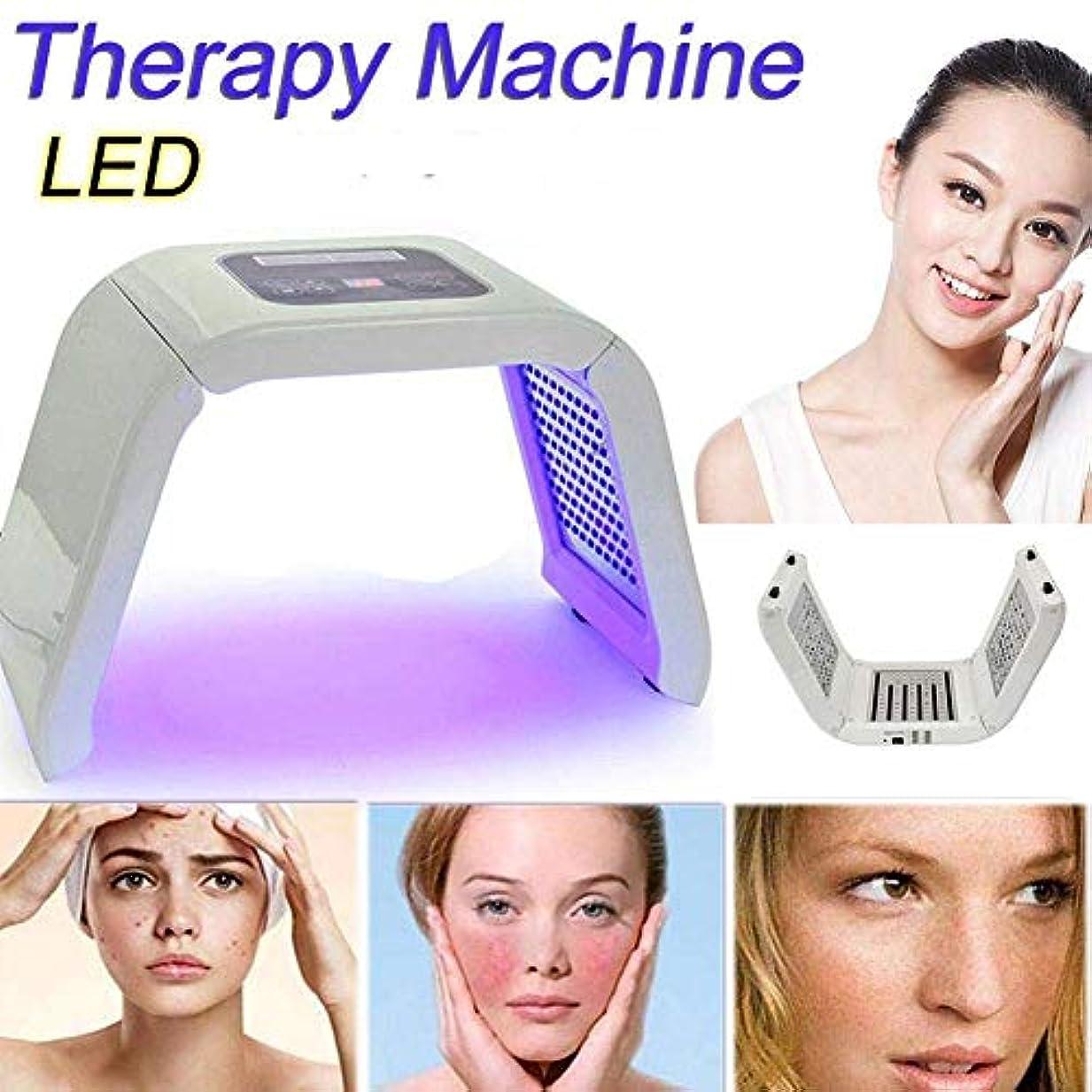 熱外出締める美容肌の若返り機器、ホームサロンSPAマスクのための7色の光美容機、リムーバーアンチリンクル、フェイスネックボディのためのアンチエイジングスキンケアツール、
