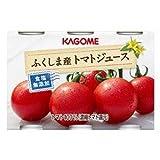 カゴメ ふくしま産トマトジュース食塩無添加 190g 6缶パック