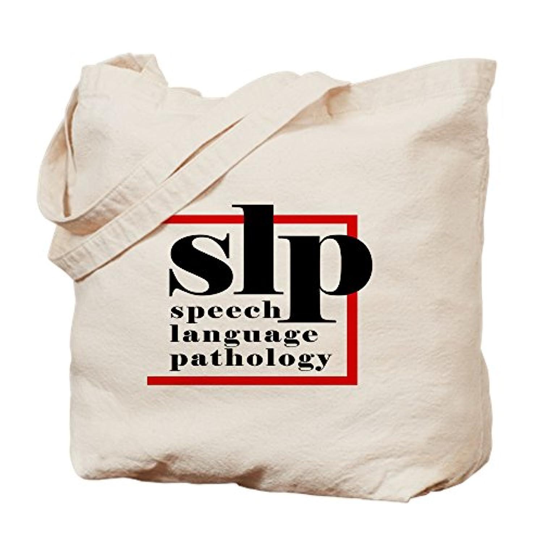 CafePress – SLP – 音声言語Patholo – ナチュラルキャンバストートバッグ、布ショッピングバッグ S ベージュ 0126368151DECC2