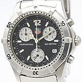 【外装仕上げ済み】【TAG HEUER 】タグホイヤー 2000 プロフェッショナル クロノグラフ ステンレススチール クォーツ メンズ 時計 CK1110