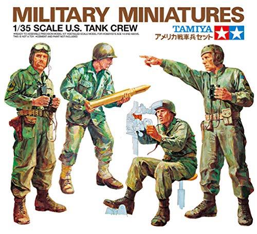 1/35 ミリタリーミニチュアシリーズ No.04 アメリカ 戦車兵セット 35004