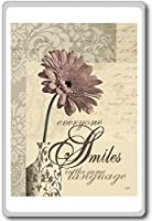 Everyone Smiles In The Same Language - Motivational Quotes Fridge Magnet - ?????????