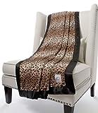 リトルジラフ 大人用ブランケット Luxe (XL シングルサイズ) レオパード Little Giraffe(リトルジラフ) lg0300-14
