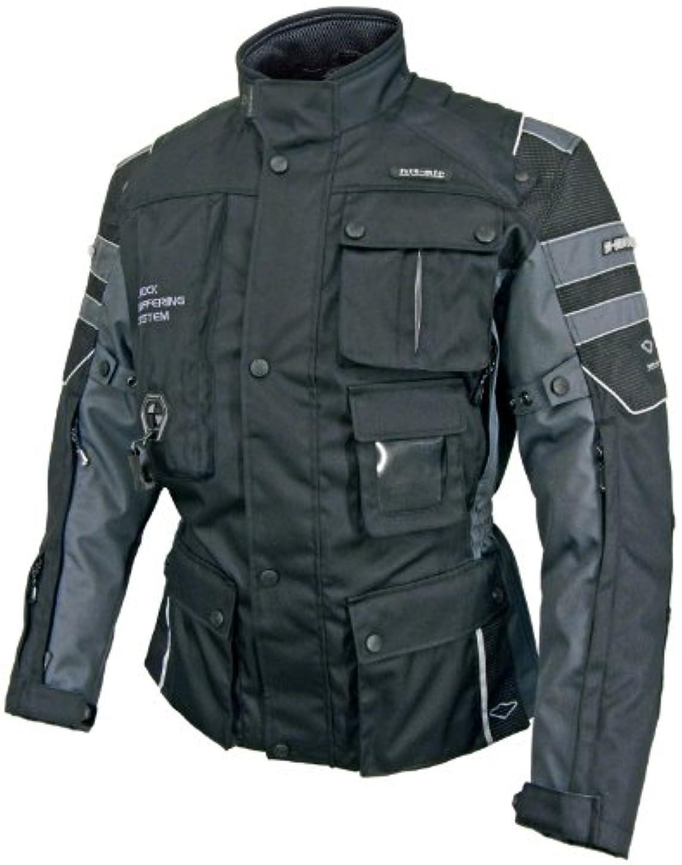 習字増幅使用法hit-air(無限電光)エアーバッグジャケットブラックL Motorrad-2