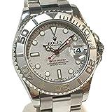 (ロレックス) ROLEX 168622 ヨットマスター ロレジウム オイスターパペチュアル デイト ボーイズ腕時計 腕時計 プラチナ/SS メンズ 中古