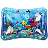 水遊びマット ウォータープレイマット マットに水と空気を入れるだけ 耐荷重60キロ 自宅でも水遊び/海洋動物を観察 夏の日 知育玩具 出産祝い お誕生日