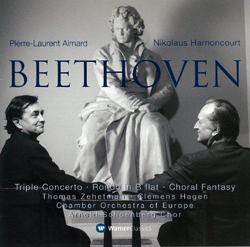 ベートーヴェン:三重協奏曲 他 - エマール&アーノンクール