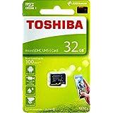32GB TOSHIBA 東芝 microSDHCカード CLASS10 UHS-I対応 R:100MB s 海外リテール