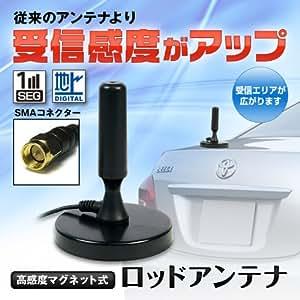 地デジ専用!高感度アンテナ(ショートタイプ)