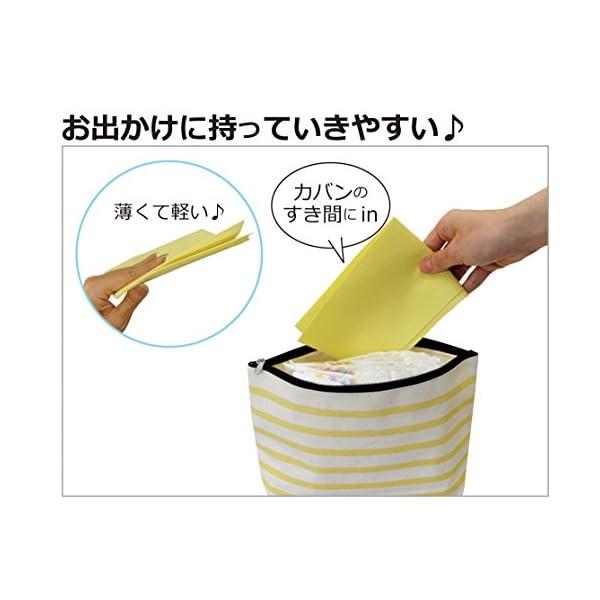日本パフ 使い捨ておむつ替えシート 防水仕様の紹介画像4