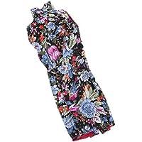 ノーブランド品  人形 ファッション 服  ノースリーブ  チャイナドレス ドレス  バービー人形用 3色選べる - ブルー