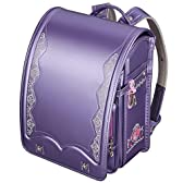 プレミアムフィットちゃんランドセル ロイヤルローズ パールカラー(FIT-208P) A4クリアファイル収納サイズ パールラベンダー 紫