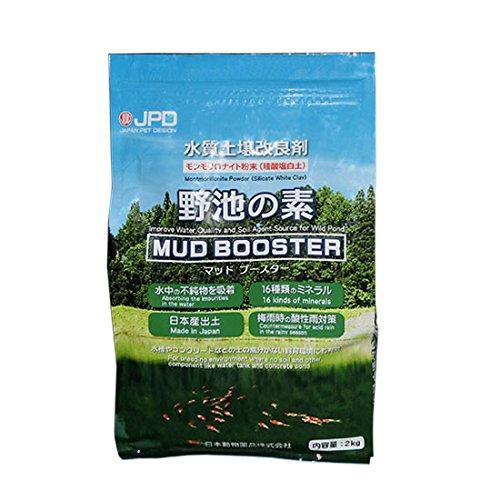 モンモリロナイト粘土粉末 日本動物薬品 野池の素 2kg入...