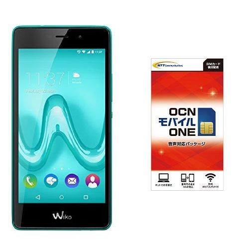 Wiko Mobile Tommy 5.0 SIM フリースマートフォン ブリーン (Android 6.0/2GB/16GB) &OCN モバイル ONE 音声通話+LTEデータ通信SIMセット