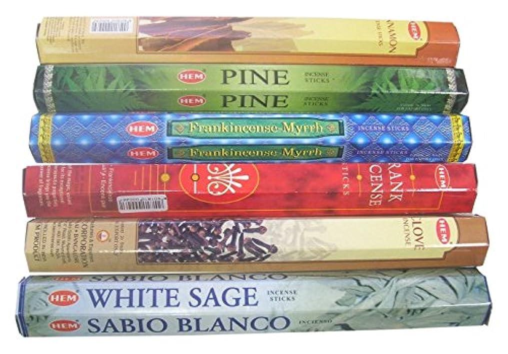 アッパーに慣れ通行料金Hem Christmas Incense Sticks Best Sellers, 120 by Hem