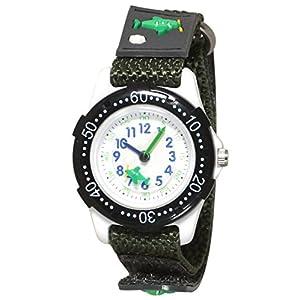 [クレファー]CREPHA 腕時計 アナログ ナイロンベルト マジックテープ ブラック BAK-4139-BK ボーイズ 【正規輸入品】