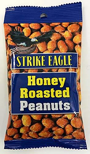 ストライクイーグル ハニーローストピーナッツ 50g×24袋 アメリカのおみやげ 【注文から賞味期限1カ月以上を発送致します】