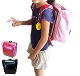 両手が使えて通学を安全に!ランドセル用 収納便利バッグ サンドセル (ビビットピンク)