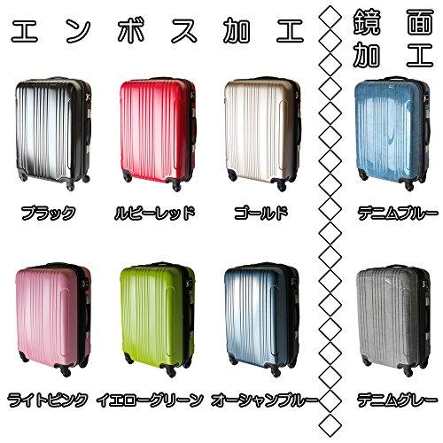 (グラディス・トラベル)GladysTravel スーツケース 4輪 機内持込 458320 SSサイズ ブラック