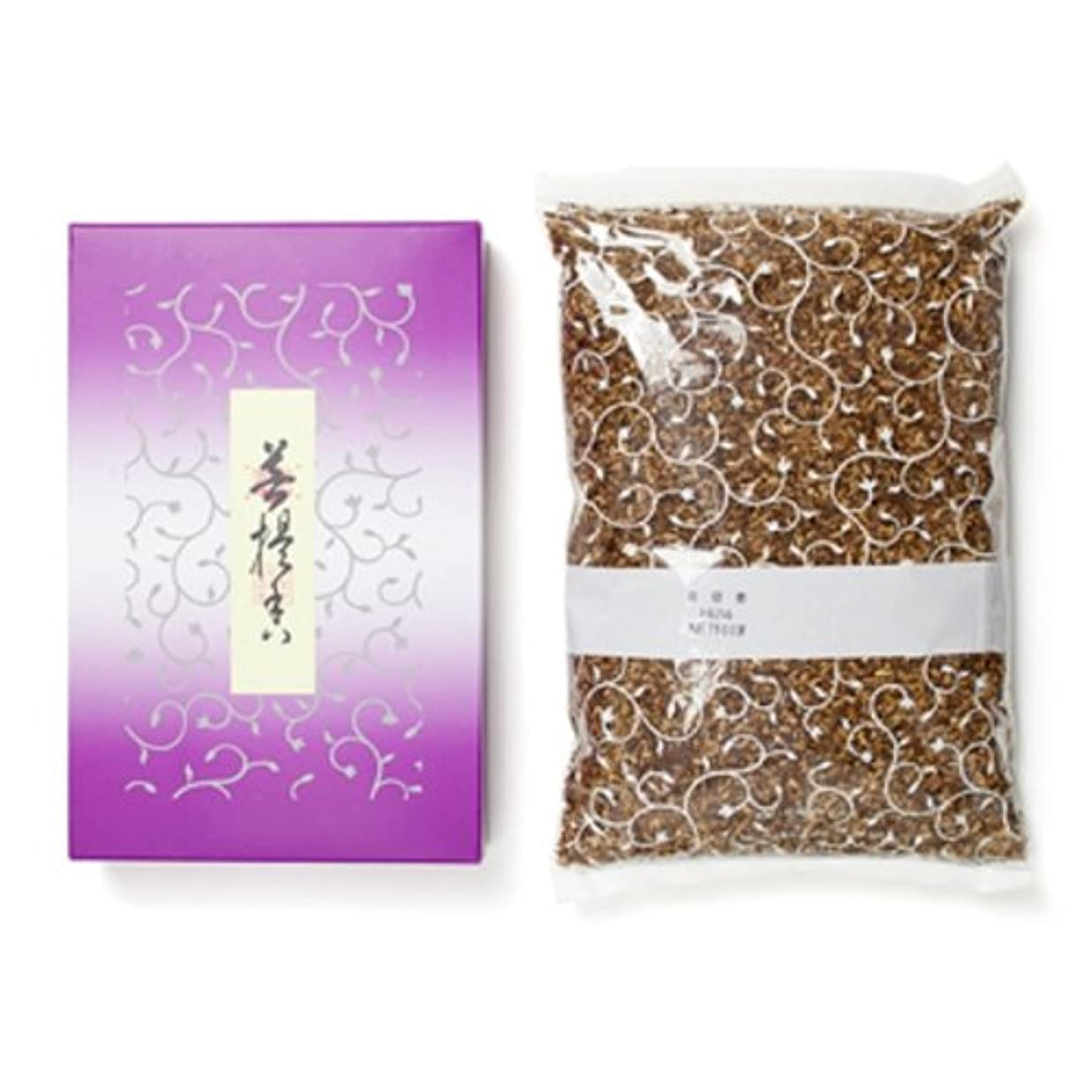 十二計り知れない夕方松栄堂のお焼香 菩提香 500g詰 紙箱入 #410411