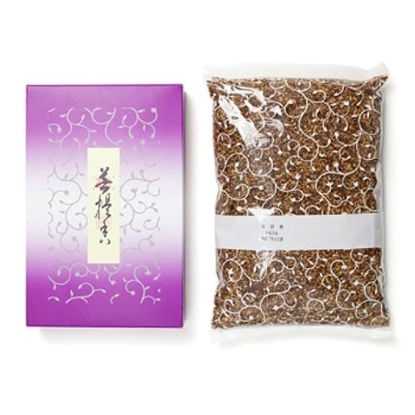 ミシン純正減らす松栄堂のお焼香 菩提香 500g詰 紙箱入 #410411