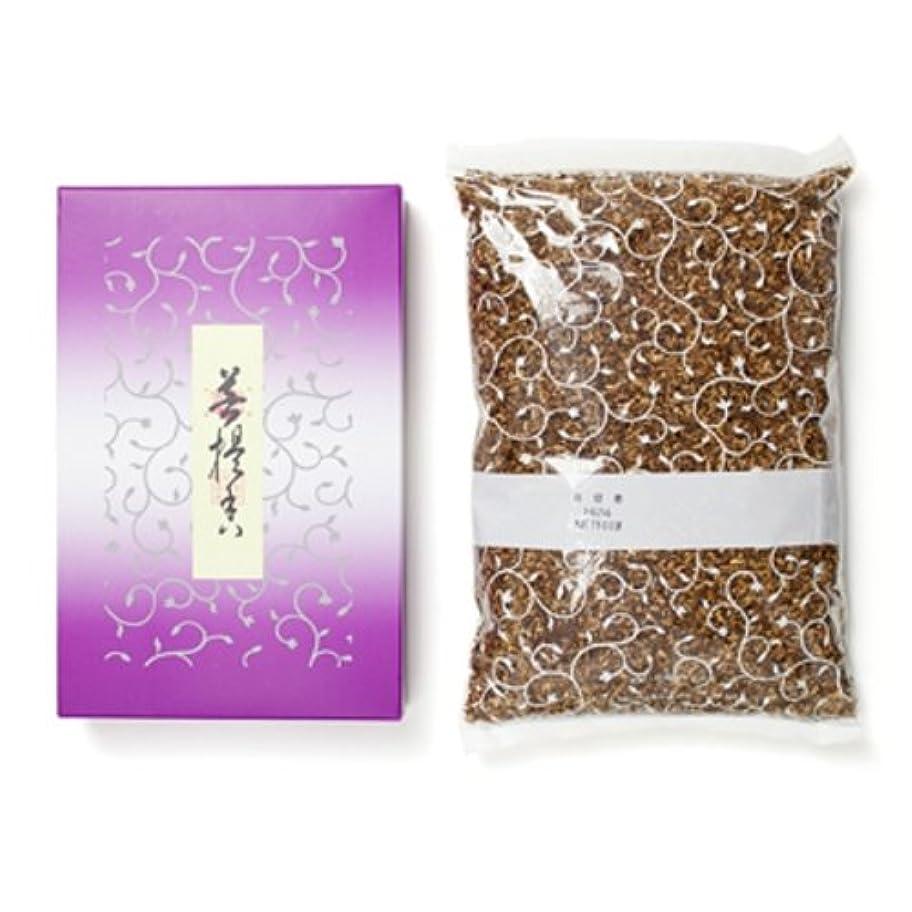 クラフトよく話されるマイルド松栄堂のお焼香 菩提香 500g詰 紙箱入 #410411