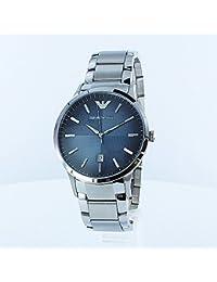 [エンポリオアルマーニ] EMPORIO ARMANI メンズ ネイビー 文字盤 シルバー ステンレス AR2472box 腕時計 [並行輸入品]