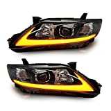 USEKA トヨタ カムリ用 ヘッドライト ヘッドランプ 左右セット新品 09-11 LED FOR TOYOTA CAMRY 09-11 LED HEAD LIGHTS LAMPS