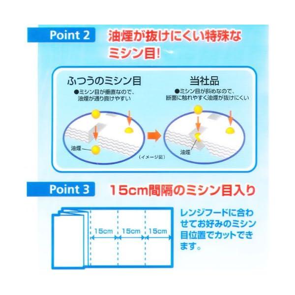 三菱 厚っ レンジフードフィルター 取替用 浅深兼用の紹介画像4