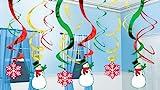 【クリスマス装飾デコレーション】ホリデーアイコンスウィル カットアウト(1個)  / お楽しみグッズ(紙風船)付きセット