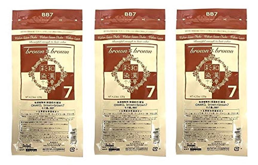 インゲンベテラン構想する【3個セット】グランデックス 和漢彩染 十八番 120g BB7