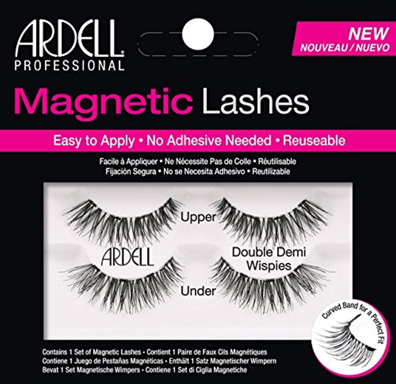 妨げる投資するテキストARDELL Magnetic Lashes - Double Demi Wispies (並行輸入品)
