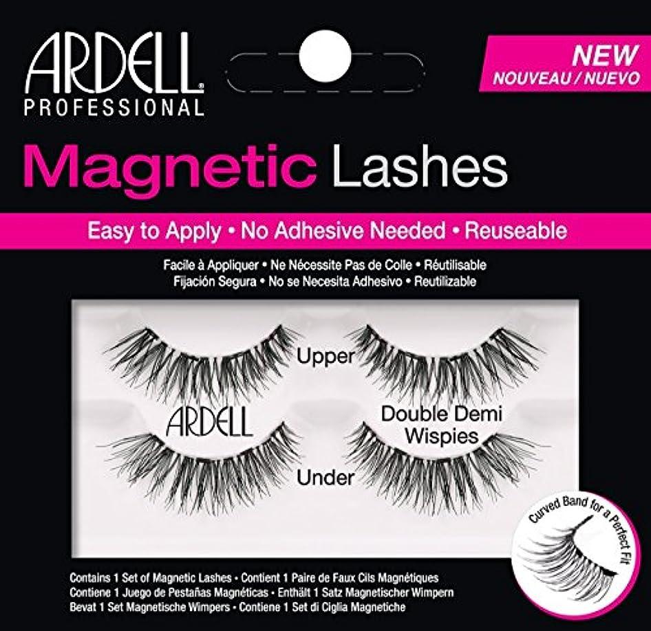 限界ウルルりARDELL Magnetic Lashes - Double Demi Wispies (並行輸入品)