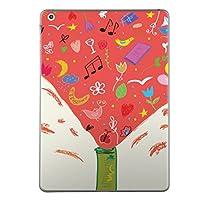 第6世代 iPad 9.7インチ 9.7inch iPad6 2018年モデル A1893 A1954 スキンシール apple アップル アイパッド タブレット tablet シール ステッカー ケース 保護シール 背面 人気 単品 おしゃれ おしゃれ ラブリー イラスト カクテル 006014