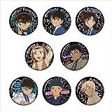 名探偵コナン ネオンアートシリーズ キラキラ缶バッジ BOX商品 1BOX=8個入り、全8種類
