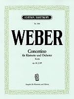 ウェーバー: 小協奏曲 変ホ長調 Op.26/ブライトコップ & ヘルテル社/ピアノ伴奏付クラリネット・ソロ