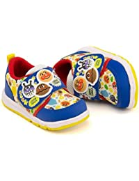 [ソレイケ! アンパンマン] それいけ! アンパンマン 女の子 男の子 キッズ ベビー 子供靴 運動靴 通学靴 ベビーシューズ スニーカー 屈曲性 ストラップ APM B19