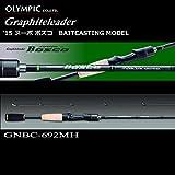 オリムピック (OLYMPIC) グラファイトリーダー '15 ヌーボ ボスコ GNBC-69MH (ベイトキャスティングモデル)(Nuovo-Bosco) / バスロッド