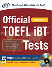 Official TOEFL iBT Tests Volume 2 (Official Toefl iBT Tests)