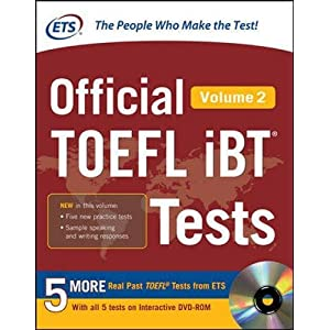 Official TOEFL iBT Tests Volume 2 (Official Toefl iBT Tests)