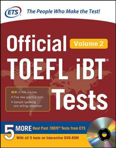 Official TOEFL iBT? Tests Volume 2 (Official Toefl iBT Tests)